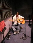 Dave creating a new song